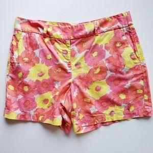 Loft Linen Cotton Blend Shorts